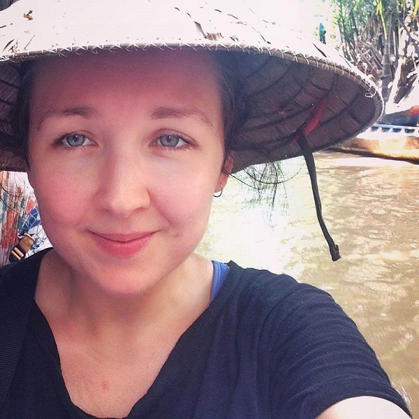 On a boat on the Mekong Delta, Vietnam