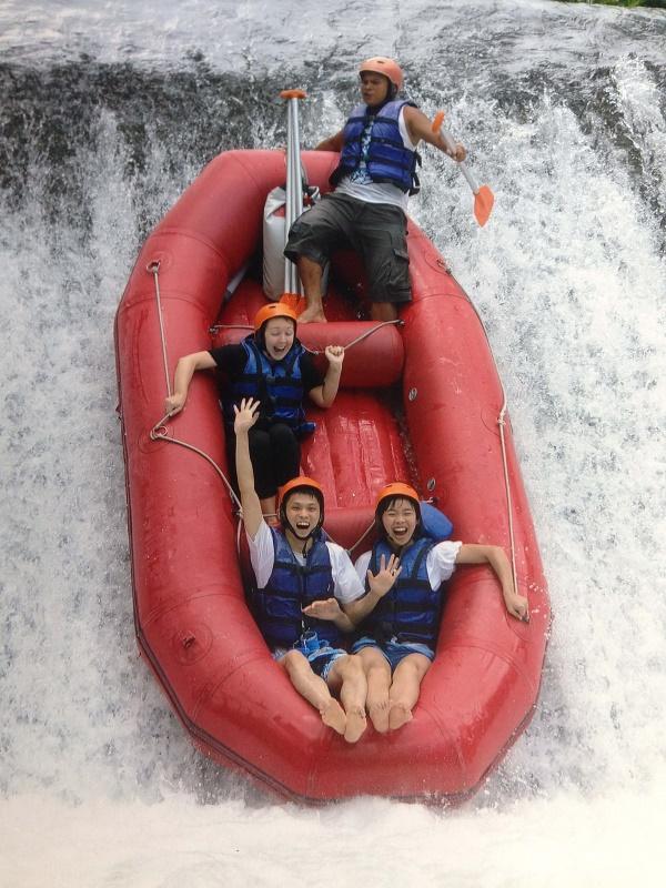 White water rafting, Ubud, Bali, Indonesia