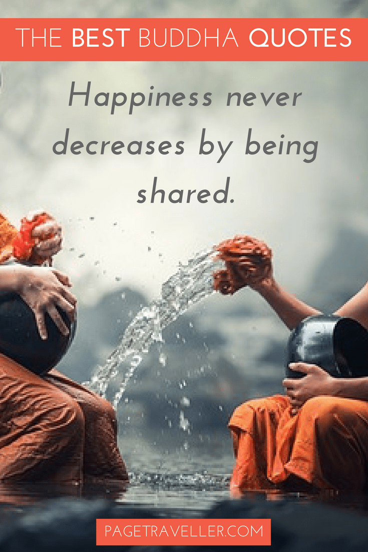 Buddha Quotes On Happiness Mesmerizing The Best Buddha Quotes About Life  Page Traveller