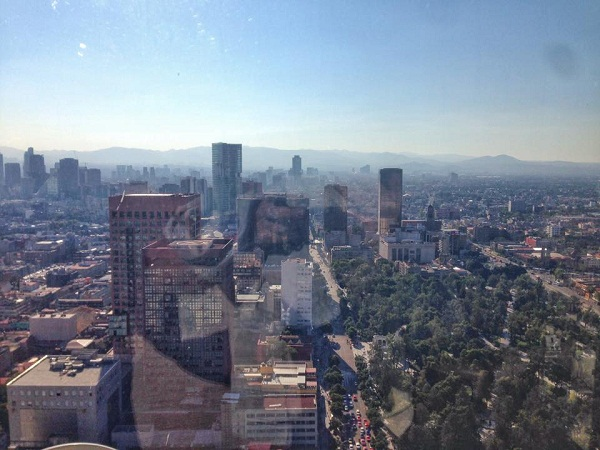 earthquakes in mexico city - view of buildings