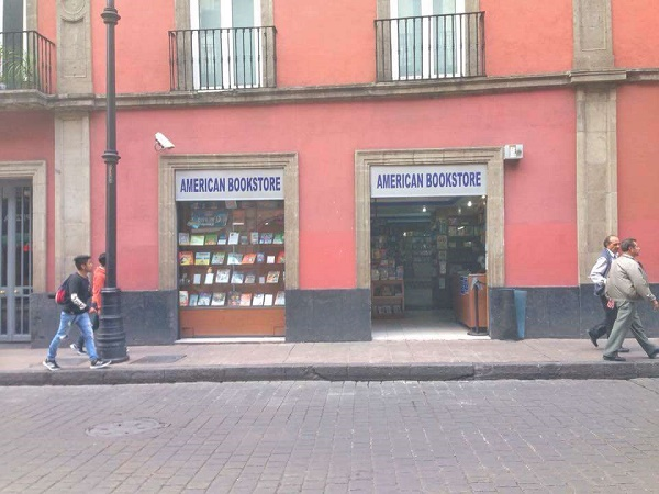 The Best Mexico City Bookstores for Books in English - American Bookstore in Centro