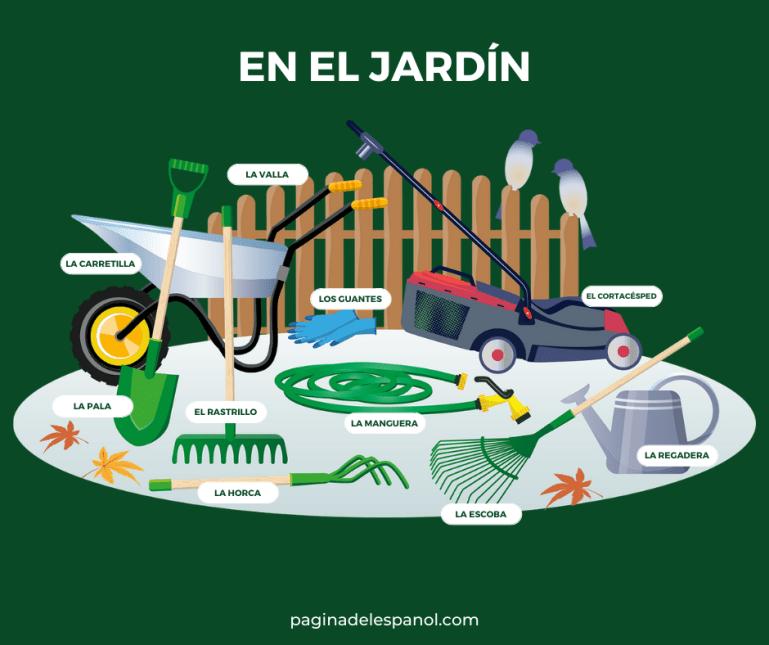 Vocabulario: En el jardín