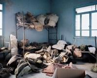 Siria, Gir Ziro (Tall Adas), Governatorato Al-Hasakah, Siria, gennaio 2013 - Interni della caserma militare dei soldati del regime sconfitti dallo YPG. La YPG (Unià di Protezione Popolare) è un gruppo armato curdo contro il governo siriano. - foto Lorenzo Meloni