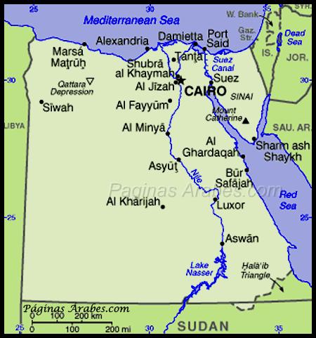 egipto_mapa