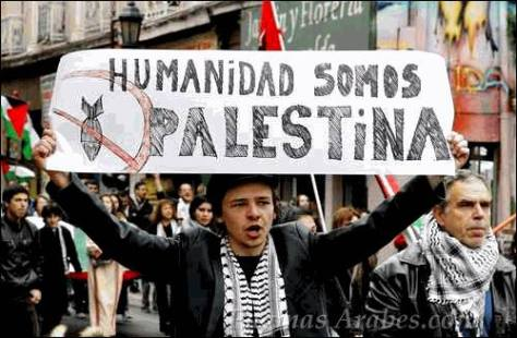 Manifestación pro palestina en Valparaíso, Chile © Reuters