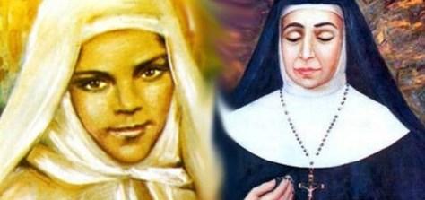 Mariam Bawardi (izquierda) y María Alfonsina Danil Ghattas (derecha).