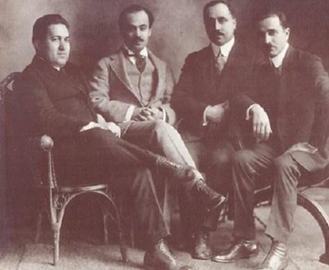 Nassib Arida_Gibran Jalil Gibran_Abdelmassih Haddad_Mikhail Naime