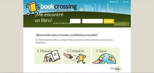 descargar ebooks gratis con bookcrossing