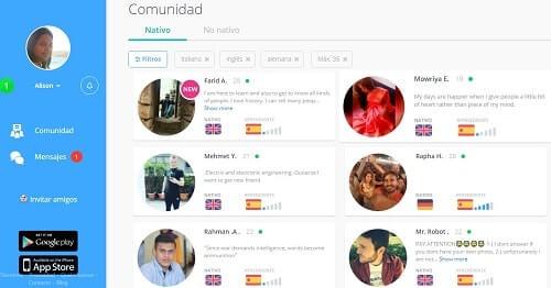 Speaky practica idiomas online