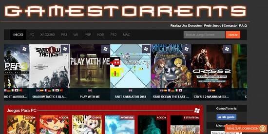 gamestorrents donde descargar juegos pc gratis y completos