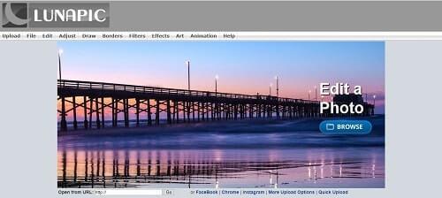 lunapic paginas para editar imagenes