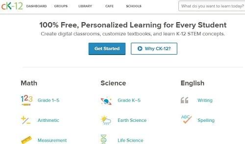 CK12 aprende en inglés