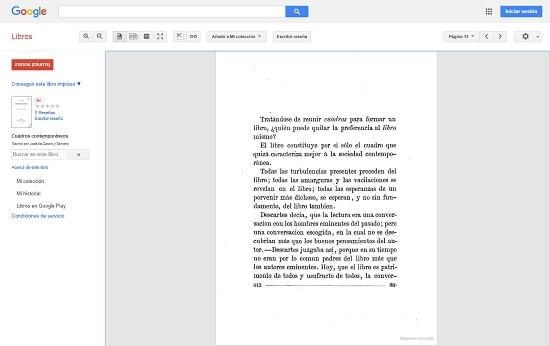 Google Libros buscador