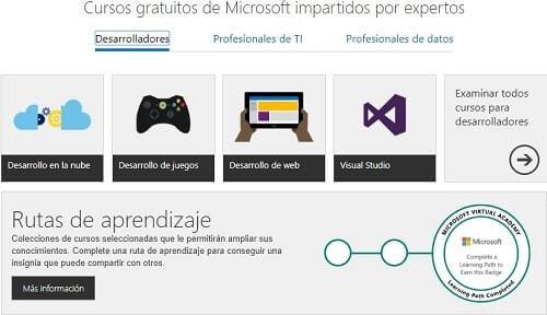 Microsft Virtual Academy aprende a programar