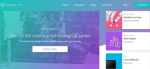 Udacity cursos online para programar