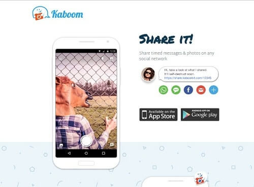kaboom sexting apps