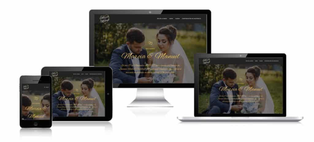 pagina web para bodas