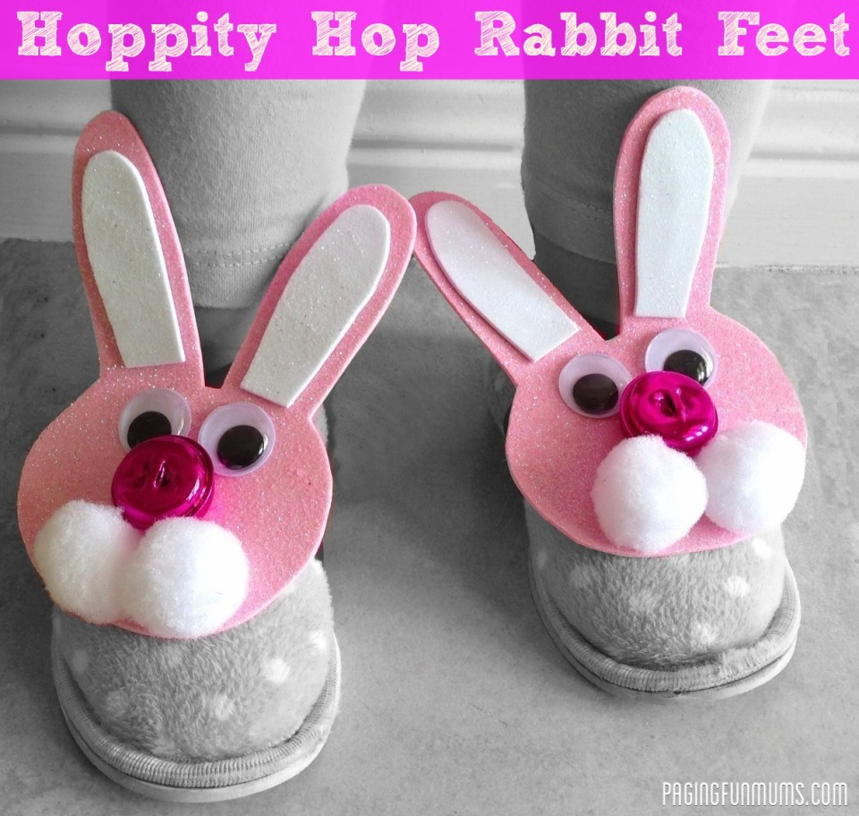 Hoppity Hop Rabbit Feet