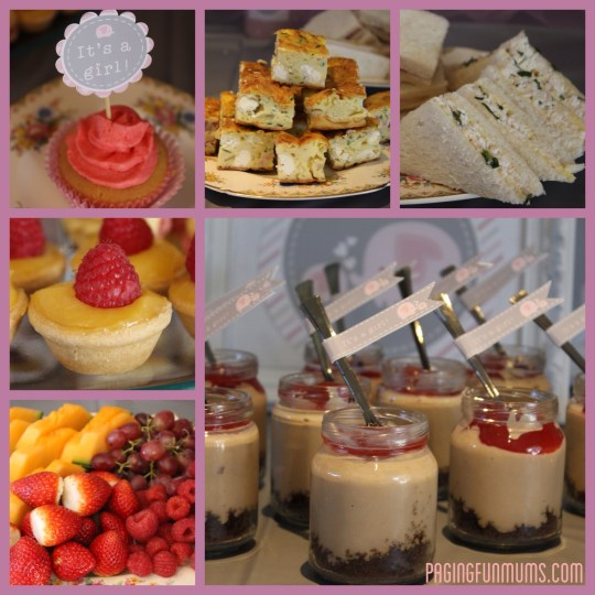 Party Food for Baby Shower