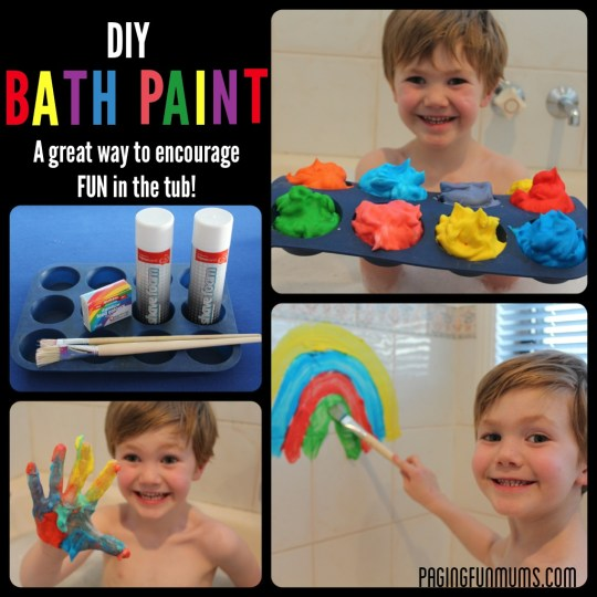 DIY Bath Paint!