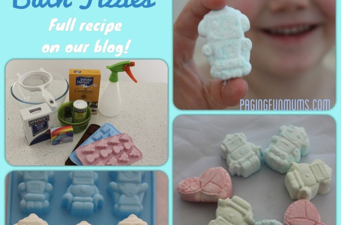 DIY Bath Fizzies! Great Fun for Bath Time!