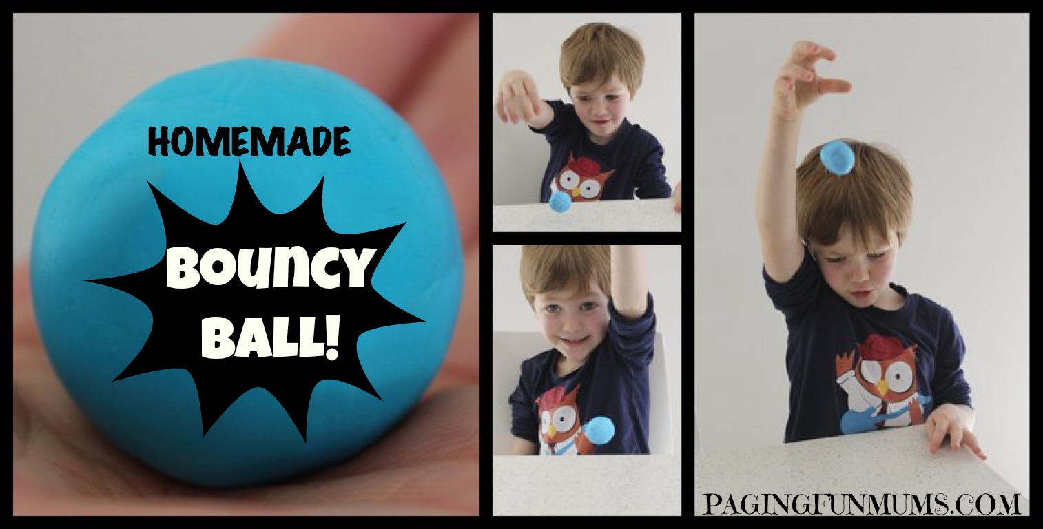 Homemade Bouncy Balls!