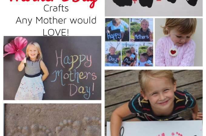 Mother's Day Craft Ideas!