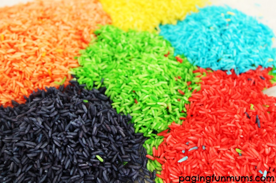 Dyed Rice 7