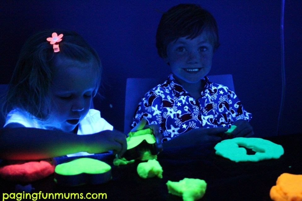 Glow in the dark Playdough 6