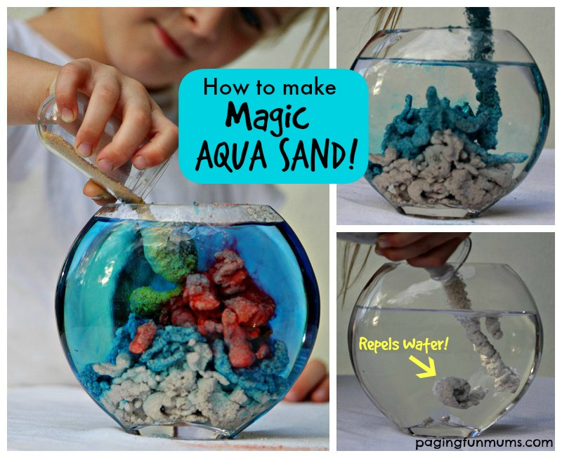 Magic Aqua Sand Tutorial - Make your own Magic Sand!