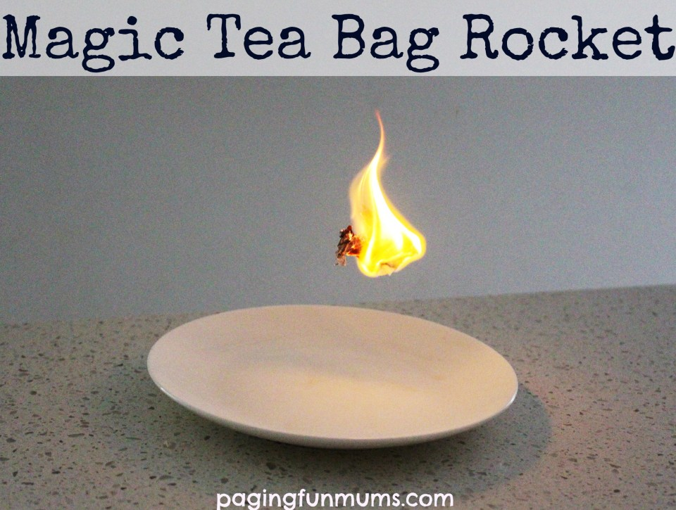 Magic Tea Bag Rocket