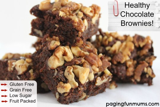 Healthy Chocolate Brownie Recipe