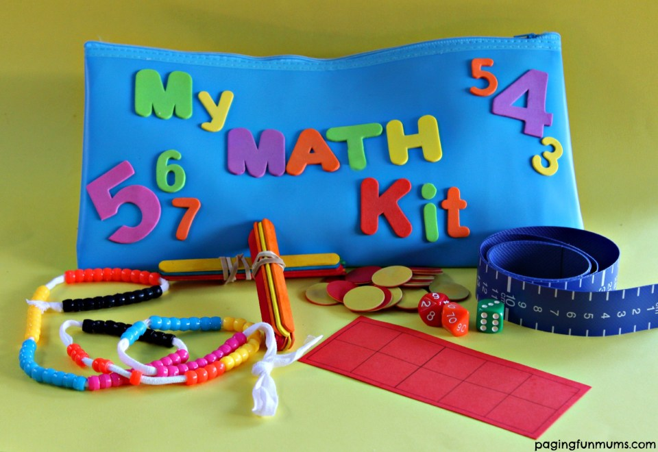 DIY Math Kit for Early Learners