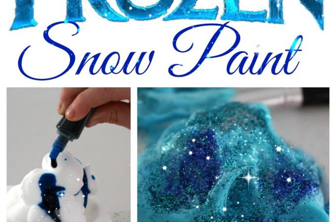 'FROZEN' Snow Paint