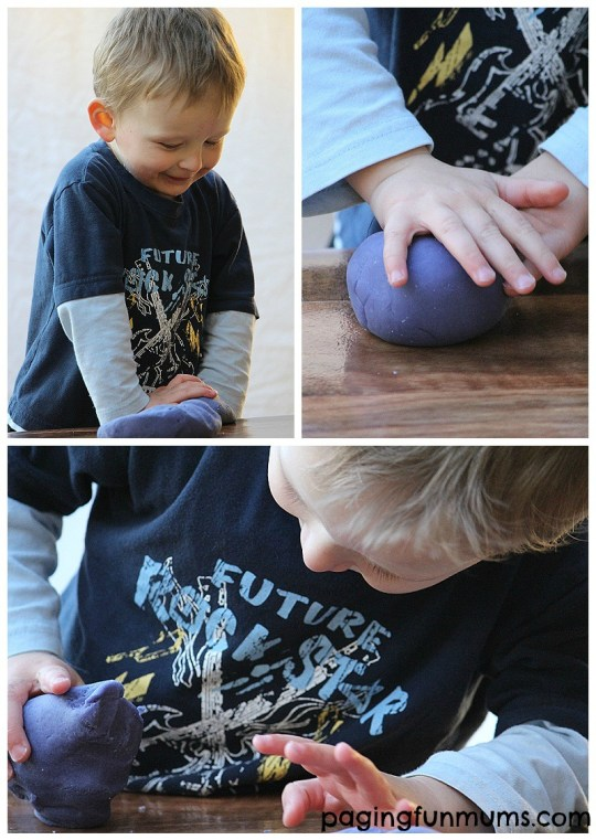 Calming and Stress Relieving Play Dough from Paging Fun Mums!
