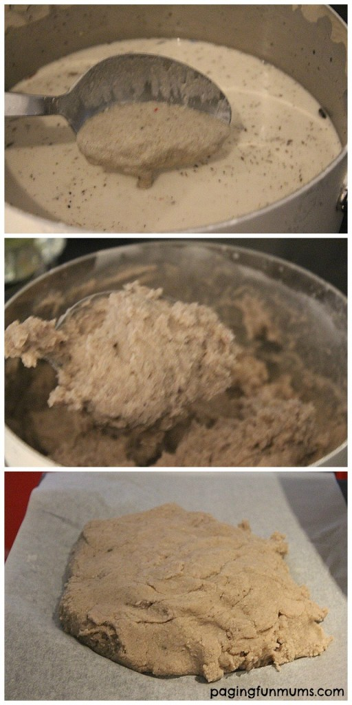 Homemade Sand Clay to make keepsakes