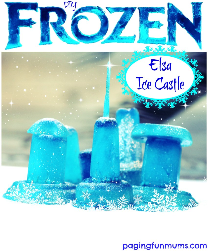 DIY Frozen Elsa Ice Castle