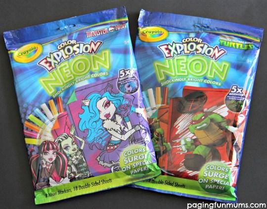 Crayola Color Explosion Neon