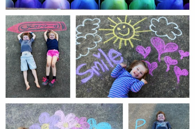 Crayola Washable Sidewalk Chalk Review
