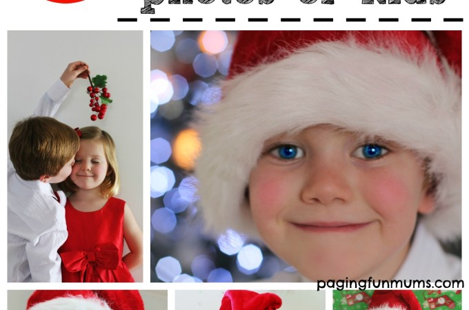 5 ways to capture FUN Christmas photos of kids