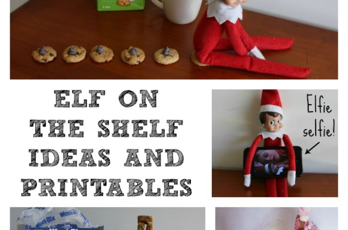 Elf on the Shelf Ideas and Printables