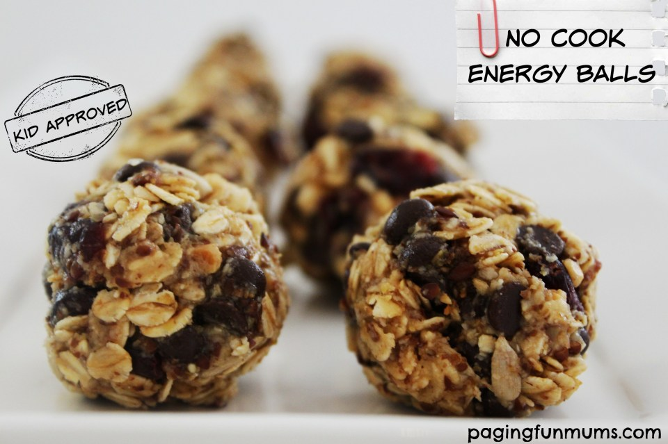 No Cook Energy Balls - kid approved!