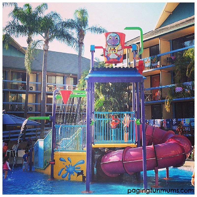 Mini Waterpark at Paradise Resort Gold Coast!