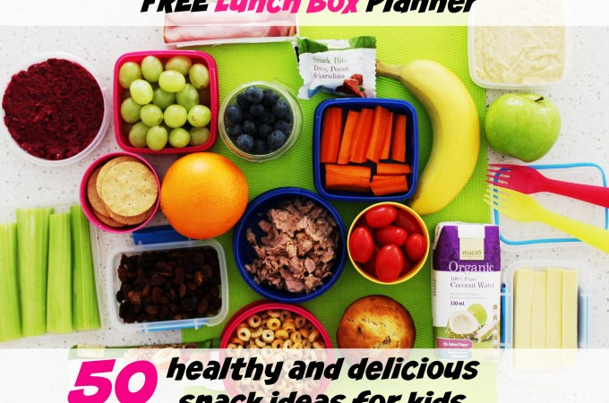 50+ healthy & delicious snack ideas for kids