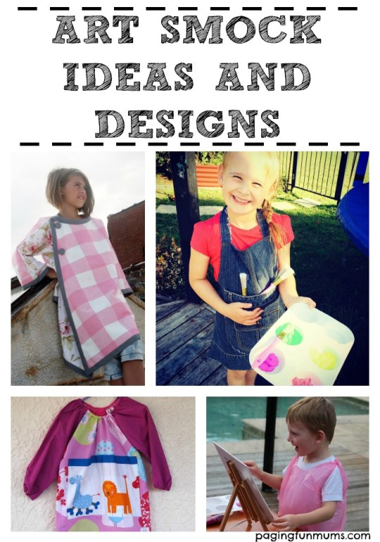 Fun Art Smock Ideas and Designs!