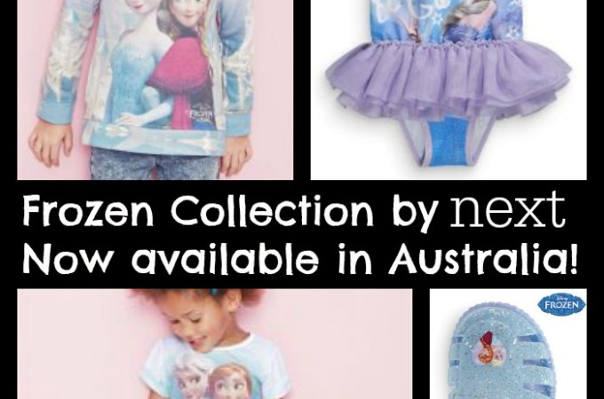 Licensed Frozen Clothing by Next – now available in Australia!