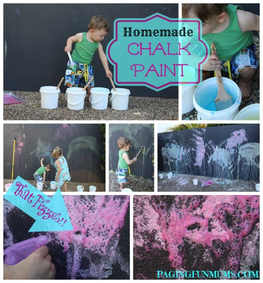 Fizzing Chalk Paint