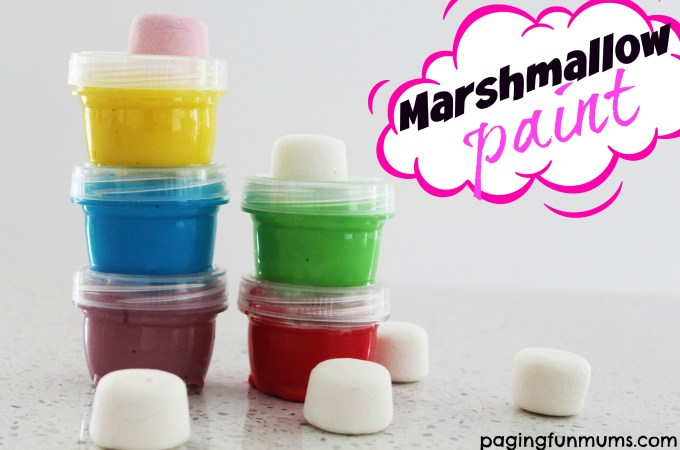 Marshmallow Paint