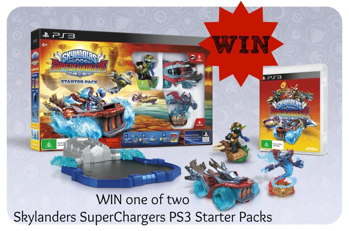 Our amazing adventures at the Skylanders Superchargers launch and a GIVEAWAY