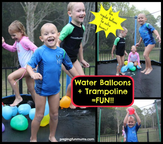 Water-Balloons-and-Trampoline